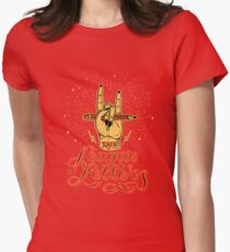 League of Letters Womens Fitted T-Shirt
