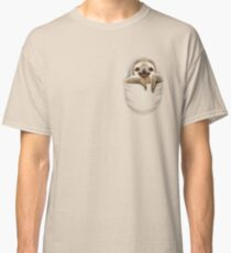 POCKET SLOTH Classic T-Shirt