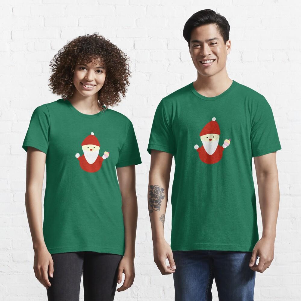 santa claus with cupcake Essential T-Shirt