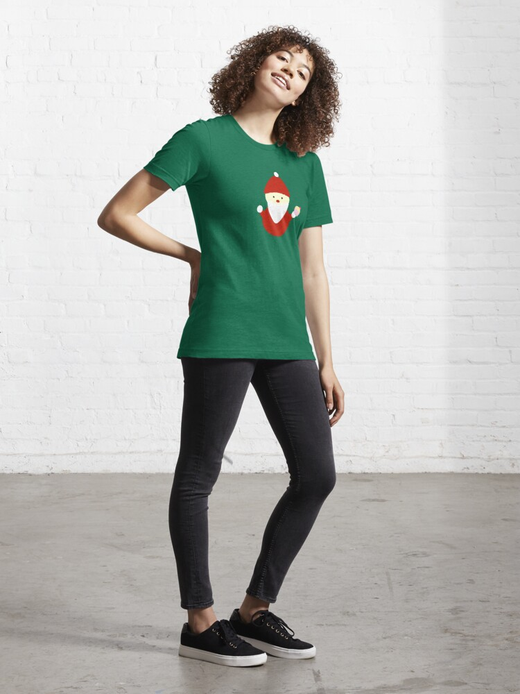 Alternate view of santa claus with cupcake Essential T-Shirt