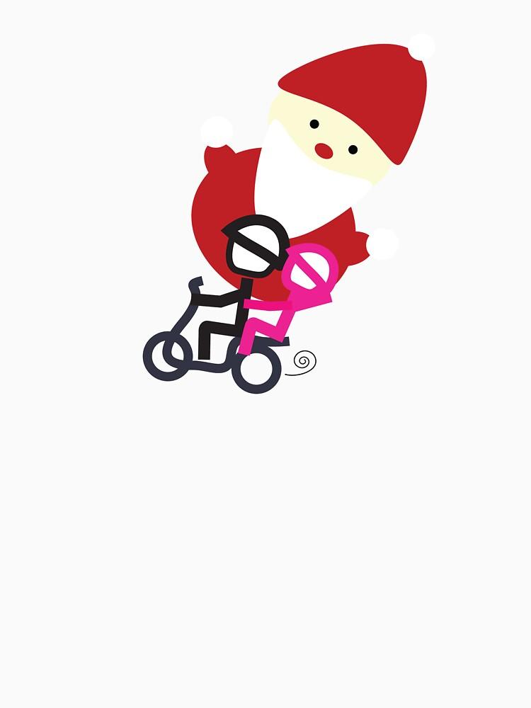 scooter Boy series - stealing Santa by gosugimoto