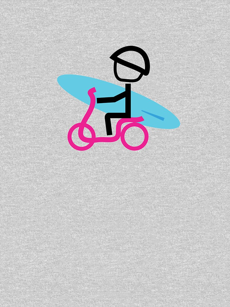 Scooter Boy series - scooter surferl t-shirt by gosugimoto