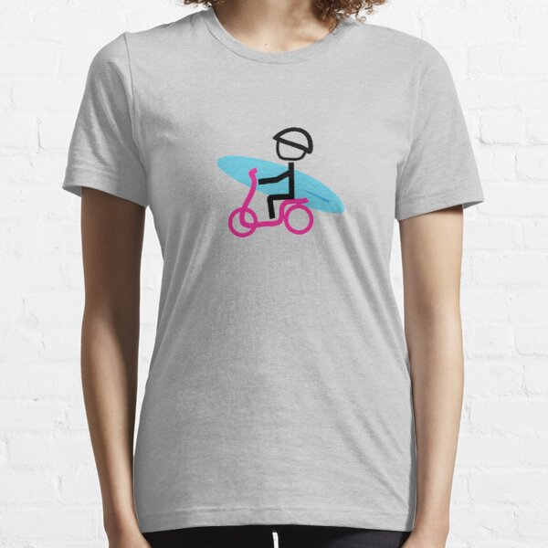 Scooter Boy series - scooter surferl t-shirt Essential T-Shirt
