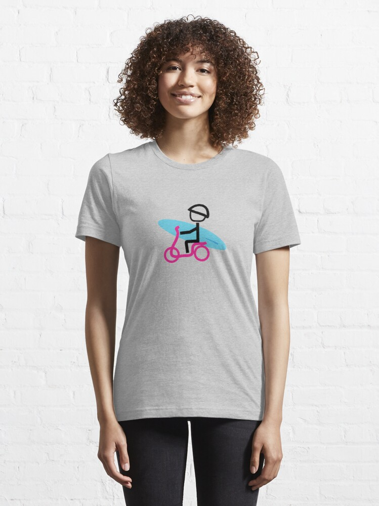 Alternate view of Scooter Boy series - scooter surferl t-shirt Essential T-Shirt
