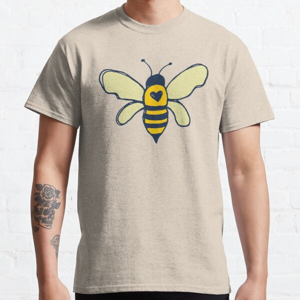 Bees and Flowers Classic T-Shirt