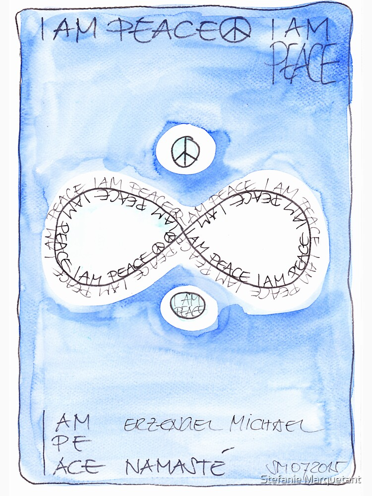 Manifesto »I AM PEACE« von AngelArt444