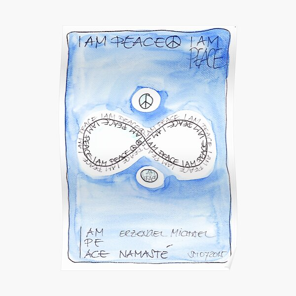 Manifesto »I AM PEACE« Poster