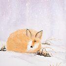 Winter Fox by Pat  Elliott