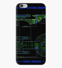 USS Excelsior MSD iPhone Case