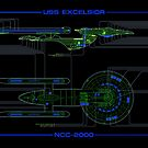 USS Excelsior MSD by Bmused55