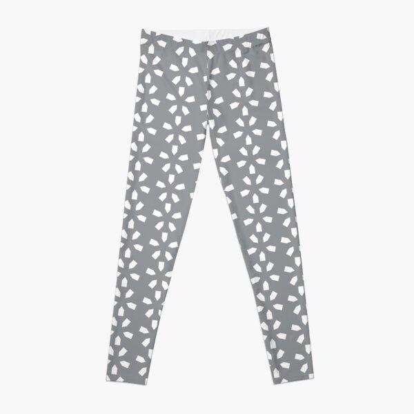 Zima (Gray/White) Leggings