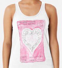 Manifesto »I AM LOVE« Tanktop für Frauen