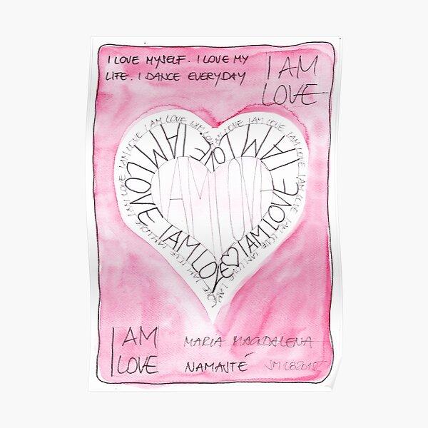 Manifesto »I AM LOVE« Poster