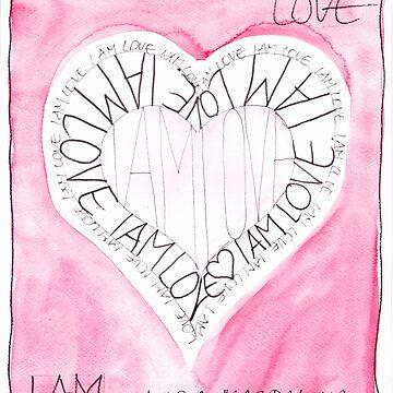 Manifesto »I AM LOVE« von AngelArt444