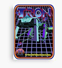 Vintage Tron Game Canvas Print