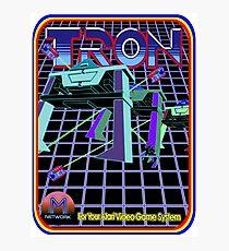 Vintage Tron Game Photographic Print