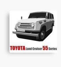 Land Cruiser 55 Series Canvas Print