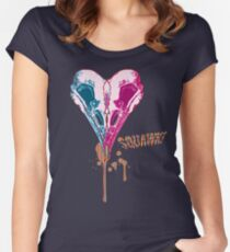 I heart sQuawk! Women's Fitted Scoop T-Shirt