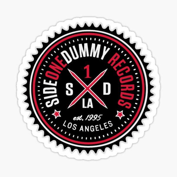 Side One Dummy Records Logo Sticker