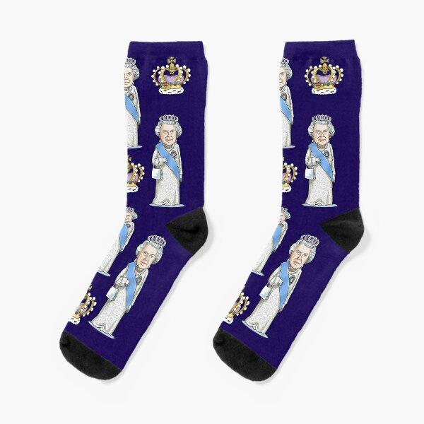 Queen Elizabeth II Socks