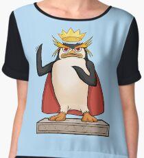 King Penguin - Hail the King Chiffon Top