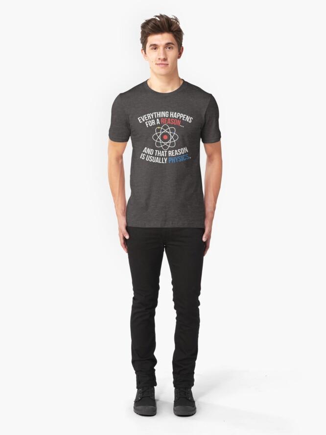 Vista alternativa de Camiseta ajustada Siempre Física