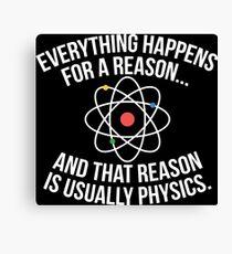Always Physics Canvas Print