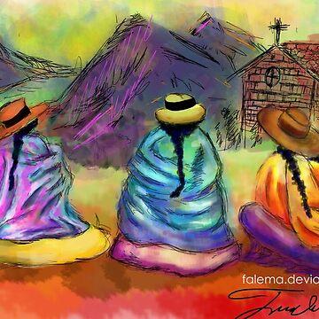 Las Chismositas: Design 1 by flema