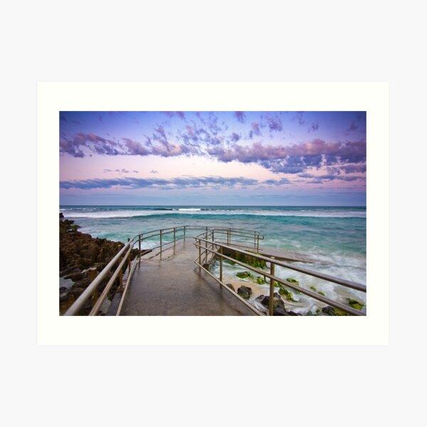 Mettams Pool, Perth, Western Australia Art Print