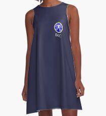 International Machine Consortium (dark) A-Line Dress
