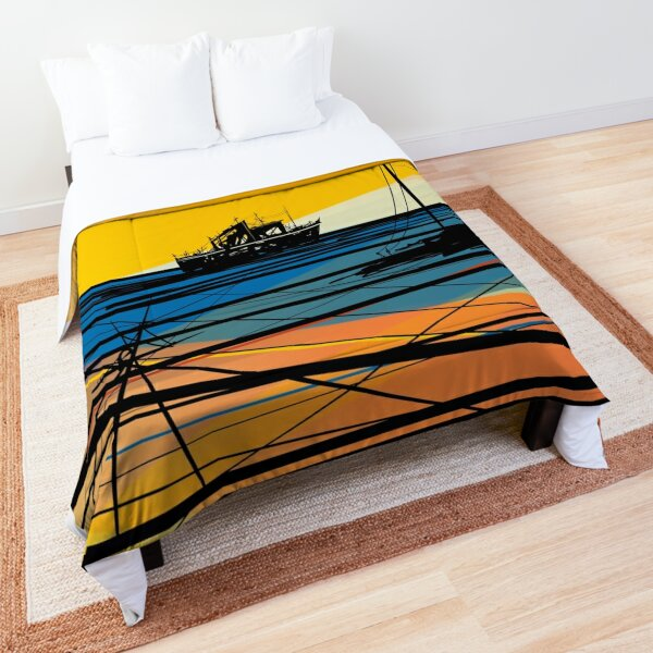 On To Something New – Yellow Version Comforter