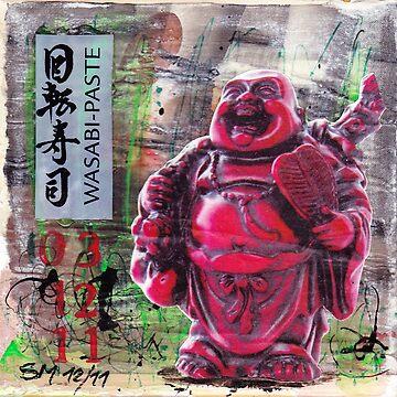 Wasabi Buddha von AngelArt444