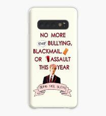Being Nice Sucks (Pink) Case/Skin for Samsung Galaxy
