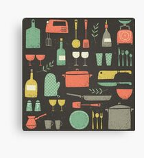 Love Your Kitchen. Retro Edition Canvas Print