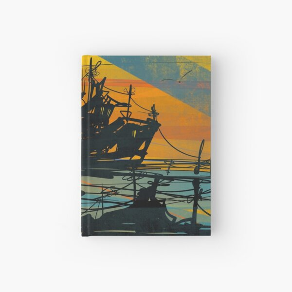 Anchored Up Hardcover Journal