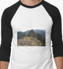 Calendar Machu 09 Men's Baseball ¾ T-Shirt