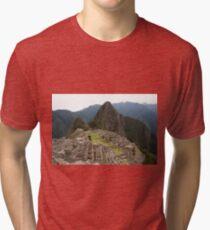 Calendar Machu 09 Tri-blend T-Shirt