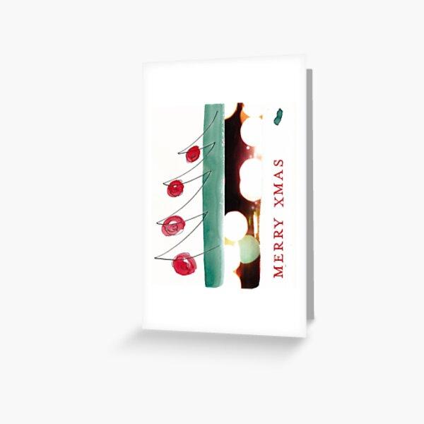 Merry XMAS Grußkarte