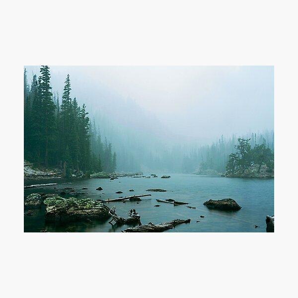 Serenity at Dream Lake Photographic Print