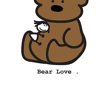 Bear Love . by mog2910