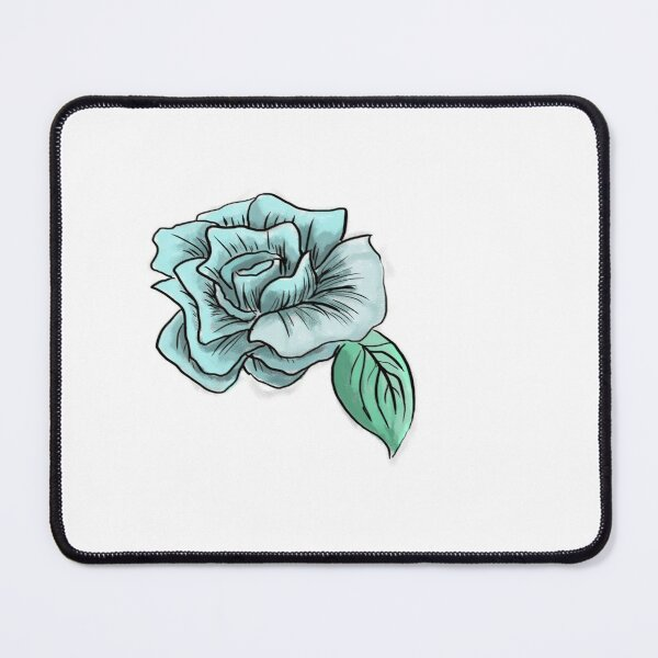 Blue Blossom Mouse Pad