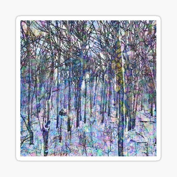 Hyperborean Landscape 5 Sticker