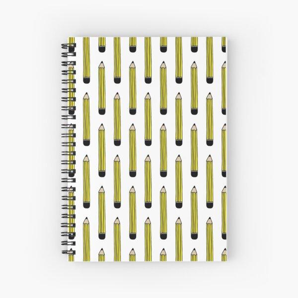 Pencil Spiral Notebook