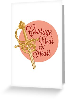 Courage greeting cards by rabbitybabbity redbubble courage by rabbitybabbity m4hsunfo