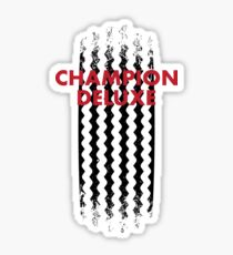 Champion Deluxe Motorcycle Tire Tread Sticker