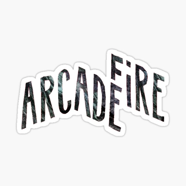 Arcade Fire Sticker