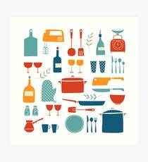 Love Your Kitchen  Art Print
