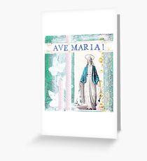 AVE Maria Grußkarte