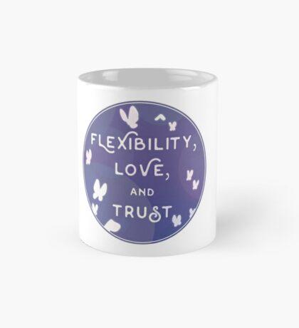 Flexibility, Love, and Trust Mug