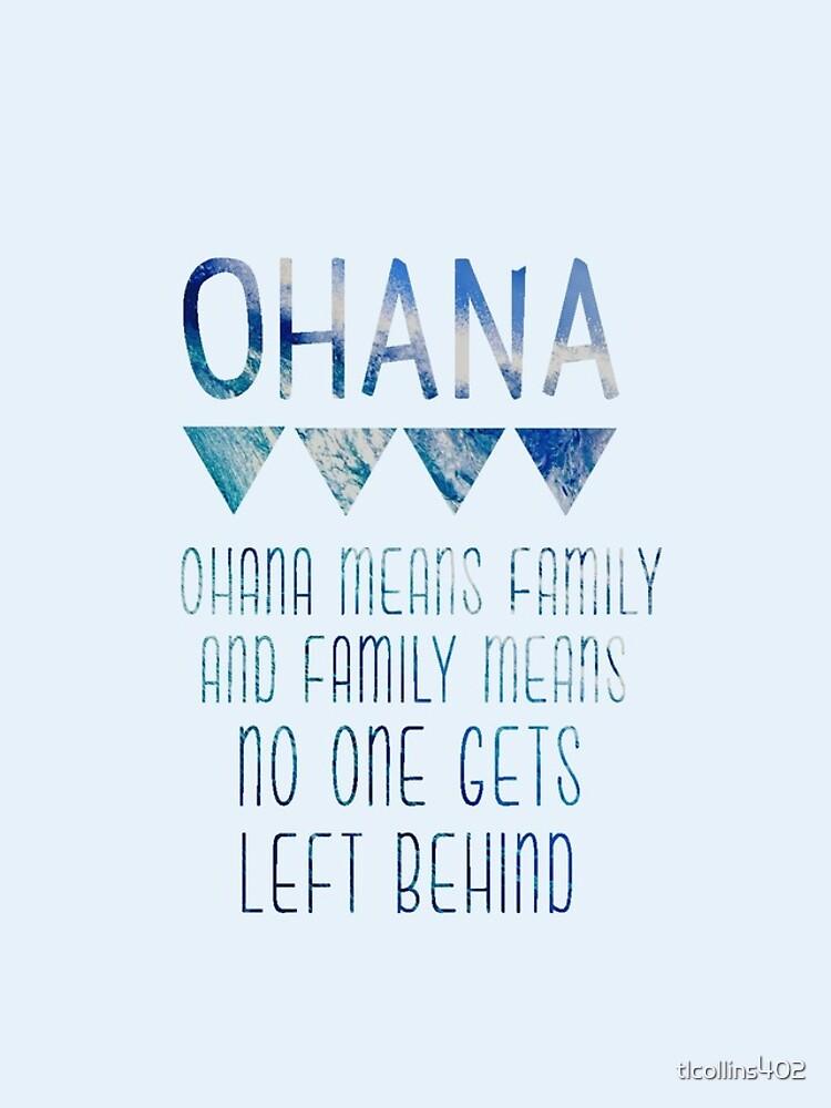 Ohana significa familia de tlcollins402